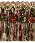 Fringe with Beads & Organdy 15cm (6