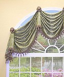 Kingston Arched Valance 66 - 76 in. Valance