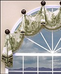 Oxford Arched Valance